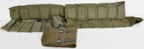 Lot of 4 empty ammo bandolier pouches & mag pouch