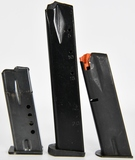 Lot of 3 unbranded 9MM mags various capacity