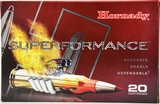 20 Rounds Hornady Superformance 35 Whelen Ammo