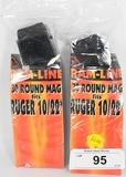 2 Ram-Line 30 Round Magazines Fits Ruger 10-22