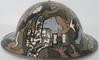 WWI Brodie Helmet Rigid Digit Salute