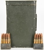 Spam Can of .30-06 Ball Ammo on Garand Clips