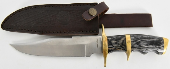 Timber Rattler Western Outlaw Full Tang Bowie Knif