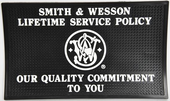 New Smith & Wesson Rubber Dealer Counter Mat