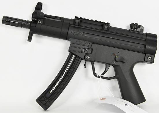 GSG 522 PK Semi Auto Pistol .22 Long Rifle
