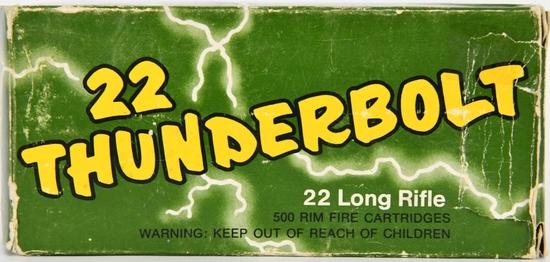 487 Rounds Of ThunderBolt .22 Lr Ammunition