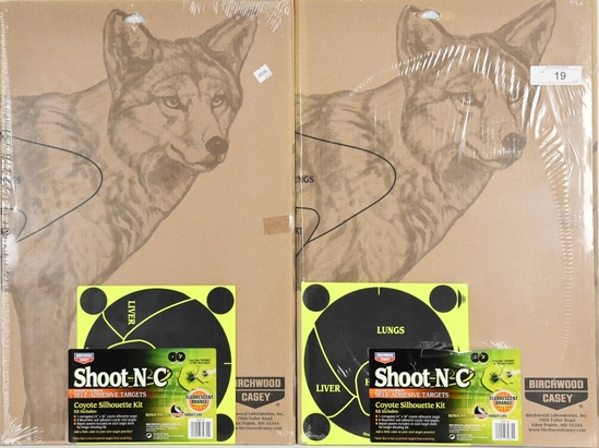 Birchwood Casey Coyote Silhouette Shoot-N-C Target