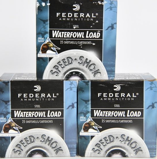 75 Rounds Federal Speed Shok Waterfowl 12 GA