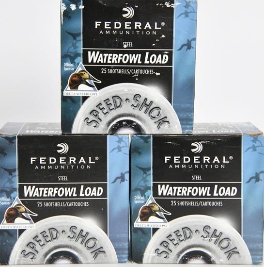 75 Rounds Federal Speed Shok Waterfowl 12 GA