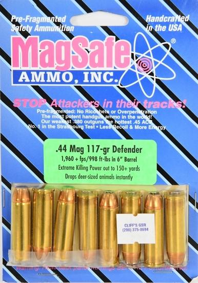 8 Rounds Of MagSafe .44 Magnum Defender Ammunition