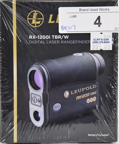 LEUPOLD RX-1200i TBR Digital Laser Rangefinder wi8