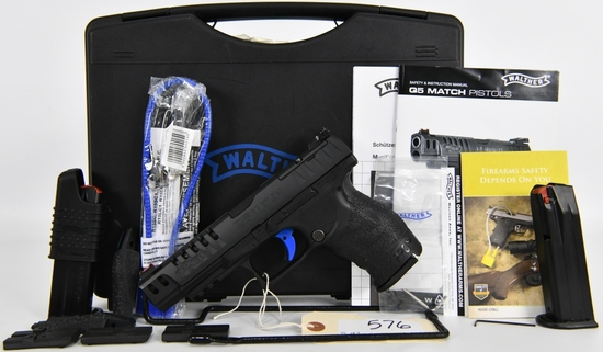 Walther Arms PPQ Q5 MATCH Semi Auto 9MM