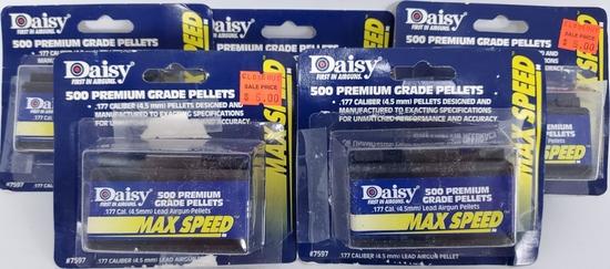 2500 Premium Daisy Grade .177 Cal Pellets NIP