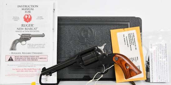 Brand New Ruger Bearcat .22 LR SA Revolver