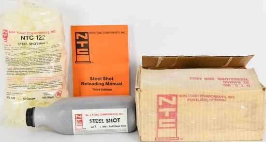 Steel Shot Reloading Component Lot: see below