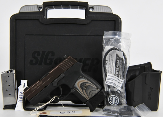 Sig Sauer P290 RS Micro Compact Pistol 9mm