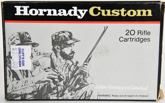 20 Rounds Of Hornady Custom 7x57 Ammunition