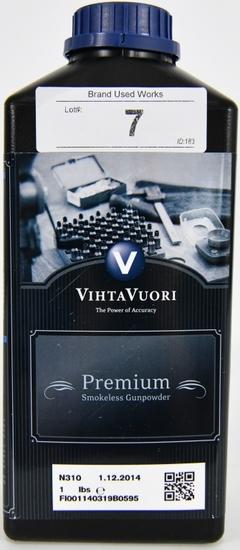 VIHTAVUORI N310 PREMIUM SMOKELESS GUNPOWDER 1 LBS