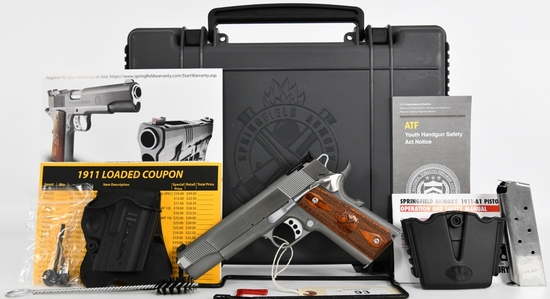 Brand New Springfield 1911-A1 Loaded Target Pistol