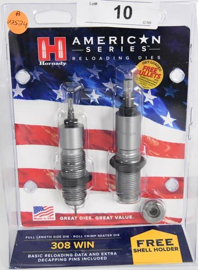 Hornady American Series 2-Die Set New In Package