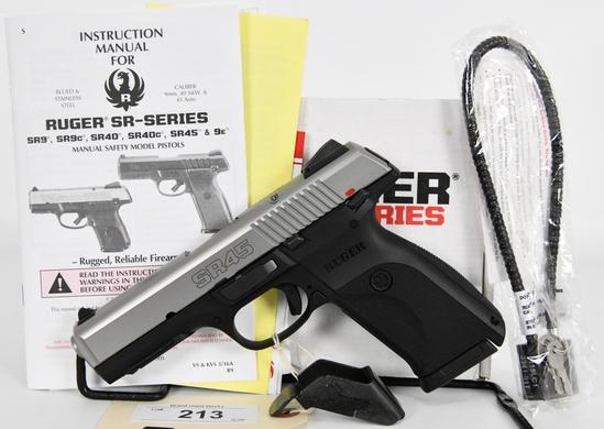Ruger SR45 Semi Automatic Pistol .45 ACP
