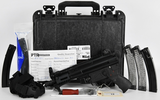 PTR 9KT 603 With Binary Trigger 9MM Semi Auto