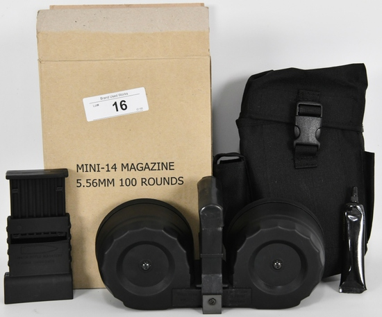 KCI Ruger Mini-14 100 Round Drum Magazine 5.56