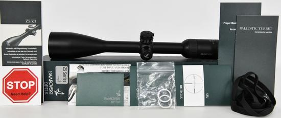 Swarovski OPTIK Z5 5-25x52 BT 4W Riflescope in box
