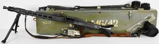 Wise Lite Arms MG-42 Semi Auto Conversion W/ .308