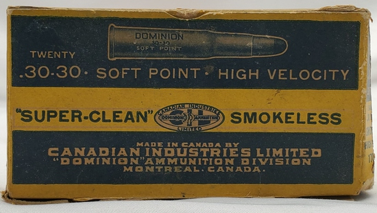 20 Rounds of Canadian Industries .30-30