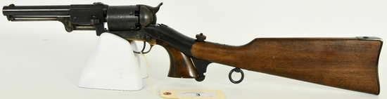 Navy Arms Colt 3rd Model Dragoon W/ Shoulder Stock