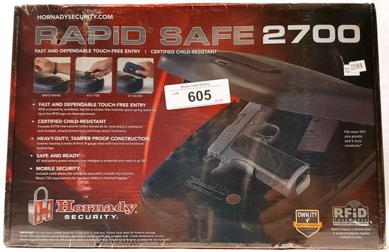 Hornady RAPiD Safe 2700 Pistol Safe New In Box