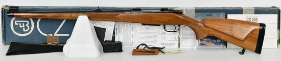 CZ-USA CZ 550 FS Bolt Rifle .243 Win Mannlicher