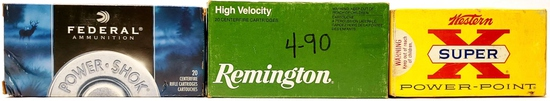 60 Rounds Of .243 Winchester Ammunition