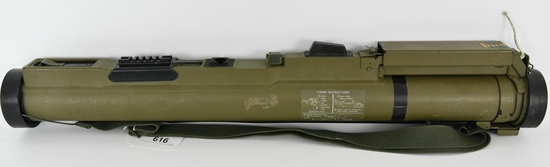 Demilled Nammo Talley M72 66mm Rocket Launcher