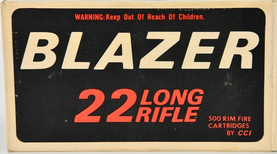500 Rounds Of CCI Blazer .22 LR Ammunition