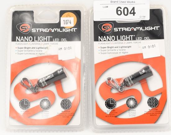 NIP Streamlight Nano Pocket Light