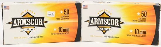 100 Rounds Of Armscor USA 10mm Auto