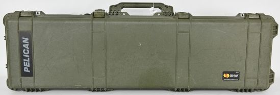Pelican 1750 Rifle Shotgun Hard Case with wheels