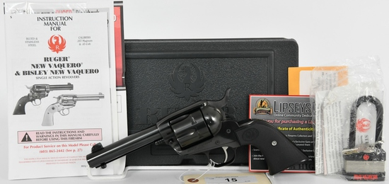 "Ruger Vaquero Revolver .44 Special 4-5/8"" BBL"