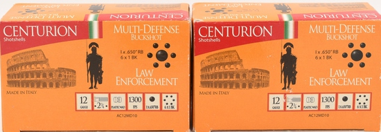 20 Rounds Centurion Law Enforcement 12 Ga