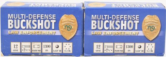 20 Rounds Of Law Enforcement 12 Ga Buckshots