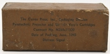 RARE & Hard to find WWII Sealed box of