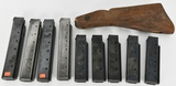 1928 Thompson SMG Stock and 9 magazines