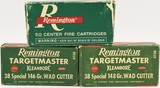 150 Rounds Of Remington .38 Special Ammunition