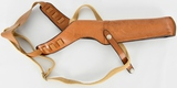Bianchi X15 Large Brown Leather Holster