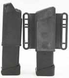 (2) Glock +2 9MM Mags & Speedloader