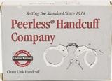Peerless Handcuff Company- Chain link Handcuff NIP