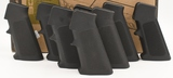 lot of 8 AR Grips- Polymer with Checkering;