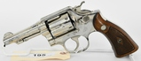 Smith & Wesson Victory Model Chrome .38 S&W